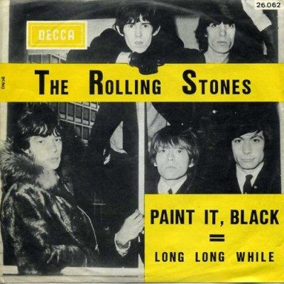 Obrázek ROLLING STONES, Paint It Black