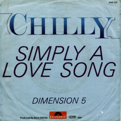 CHILLY-Simply A Love Song