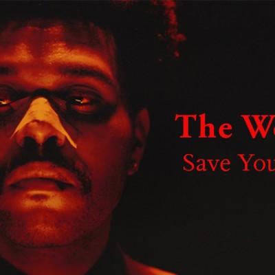 Obrázek WEEKND, SAVE YOUR TEARS