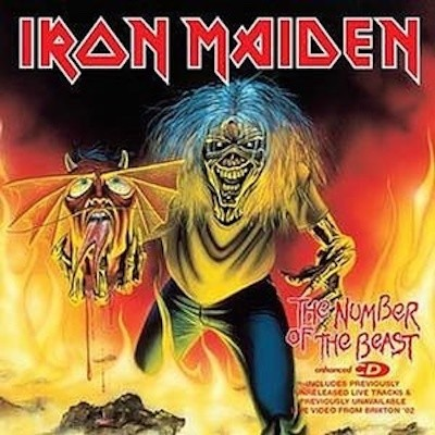Obrázek Iron Maiden, The Number Of the Beast