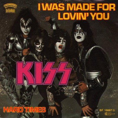 Obrázek KISS, I Was Made For Lovin' You