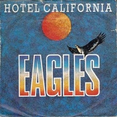 Obrázek EAGLES, Hotel California