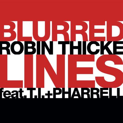 Obrázek ROBIN THICKE & T.I. & PHARRELL, Blurred Lines